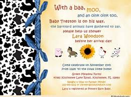 baby shower invitation playful friends boy guests
