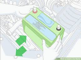 how to install a car starter 14 steps with pictures wikihow
