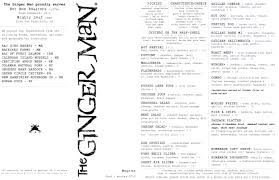 check out the ginger man boston menu