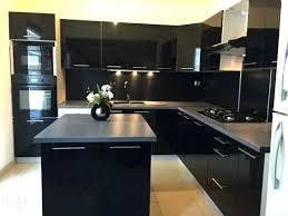 meuble cuisine laqu meuble cuisine laquac noir cuisine laquee et bois acquipace