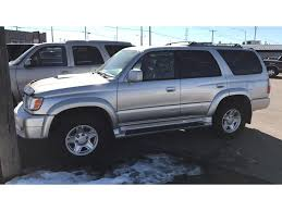 suv toyota 4runner 2000 toyota 4runner sr5 4dr suv in billings mt billings auto finder