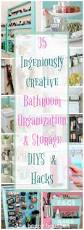 Bathroom Organization Ideas by Ingenious Ideas U0026 Diys For Bathroom Organization U0026 Storage