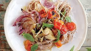 Garden Vegetable Salad by Vegetable Garden Linguine