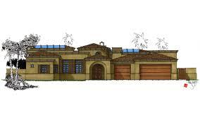 custom home design desert villa palm desert ca myles nelson