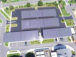Solar Canopy by Salisbury University Completes Solar Parking Canopy Project