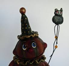 Folk Art Halloween Decorations H1 U003cp U003e U003eboy Howdie Papier Mache Folk Art By Dawn Tubbs U003c H1 U003e