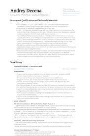 Data Architect Sample Resume by Solutions Architect Resume Samples Visualcv Resume Samples Database
