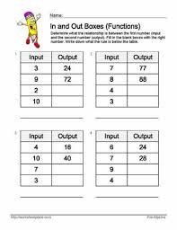 19 best input output tables images on pinterest math patterns