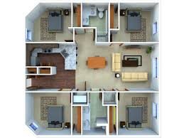 4 bedroom apartment floor plans 4 bed 2 bath apartment in chapel hill nc the warehouse