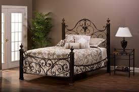 wrought iron headboard in fanciful bergen iron headboard bed matte