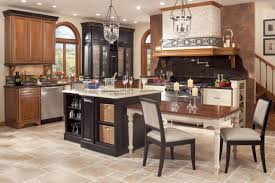 suoerb tuscan kitchen ideas white painted cabinet black granite