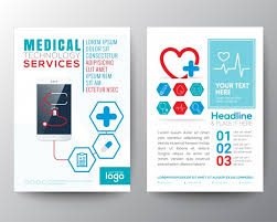 technical brochure template brochure template vector free