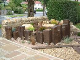 Railway Sleepers Garden Ideas Use The Ends Of Railway Sleepers To Create Another Level In My