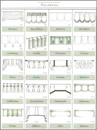 different curtain styles different types of bedroom valances