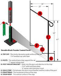 2 Step Handrail Diy Iron X Handrail Door 2 Diy Iron X Handrails Door 2 Garage