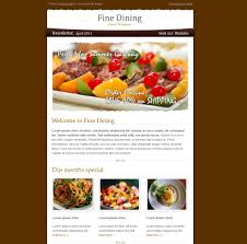 newsletter cuisine 30 useful newsletter design showcases