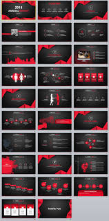 annual report ppt template 29 red black annual report powerpoint templates powerpoint 29 red black annual report powerpoint templates