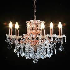Cut Glass Chandeliers Cut Glass Chandeliers Shades Of Elegance
