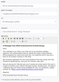 letter of termination of services how to cancel an event eventbrite help center