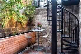 new york tall outdoor planters patio contemporary with large