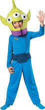 Halloween Alien Costume Toy Story Alien Classic Toddler Child Costume Toy Story
