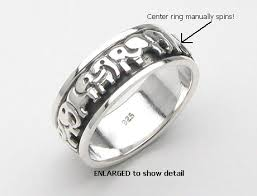 spinner rings sterling silver spinner rings elephant spinner rings model mr0002
