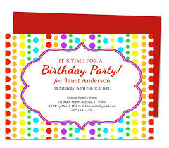 birthday invitation kids colourful music instruments kids
