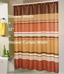 How To Measure Windows For Curtains by A Standard Shower Curtain Size Guide Linen Store