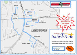 Iad Airport Map Public Transportation Leesburg Va
