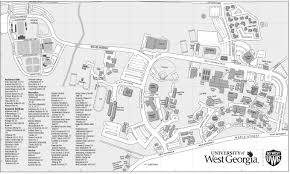 Georgia Southern Campus Map Campus Map