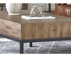 butcher block coffee table magnolia home