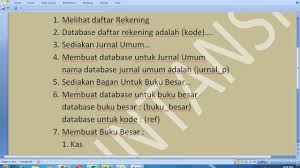 format jurnal umum dan buku besar buku besar part 2 youtube