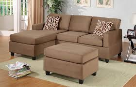 living room small space sectional with polkadot pillow sofa for