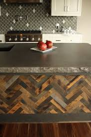 Diy Wood Kitchen Countertops by Best 20 Concrete Countertops Ideas On Pinterest Cement