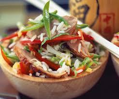 recette de cuisine asiatique recette asiatique riz cantonais au canard