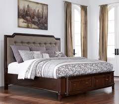 Modern Bed With Storage Upholstered King Bed With Storage Ideas Upholstered King Bed