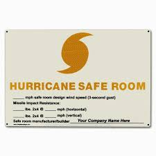 fema hurricane safe room safe room design wind speed sign nhe 25788