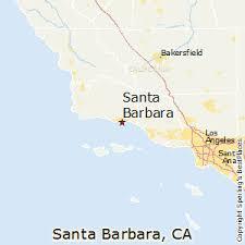 santa barbara california map best places to live in santa barbara california