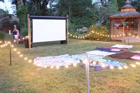 Backyard Movie Party Ideas by Img 2863 Jpg 1600 1067 Lights Strung Low In Yard Party Ideas