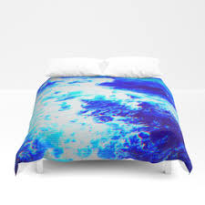 Electric Blue Duvet Cover Aesthetics Duvet Covers Society6