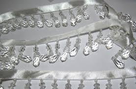 Beaded Fringe For Curtains Designer Shaped Beaded Trim For Curtain Blind Bead Fringe Trimming