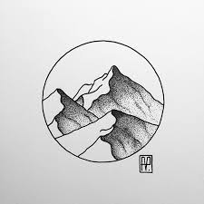the 25 best mountain drawing ideas on pinterest mountain art