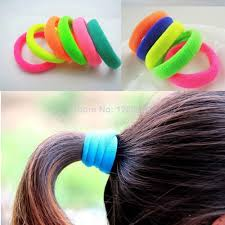 elastic hair band 2018 womens elastic hair rubber bands fashion sports novelty