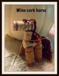 make it easy crafts wine cork horse ornament