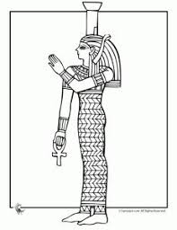 ancient egypt coloring page gods and goddesses of ancient egypt coloring pages bastet