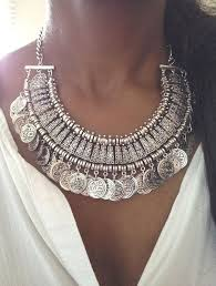 big necklace silver images Style guide for chunky necklaces jpg
