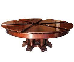 dining table with rotating surprising rotating dining table fletcher capstan worlds 6635 home