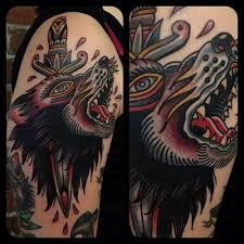 17 best wolf dagger tattoo images on pinterest dagger tattoo