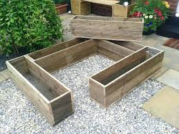 patio ideas wooden patio planters patio wood planters large