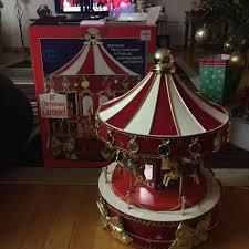 Vintage Christmas Decorations For Sale Find More 16 U0027 Christmas Carousel Vintage Christmas Decorations